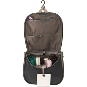 Sea to Summit Travelling Light Hanging Toiletry Large black/grey